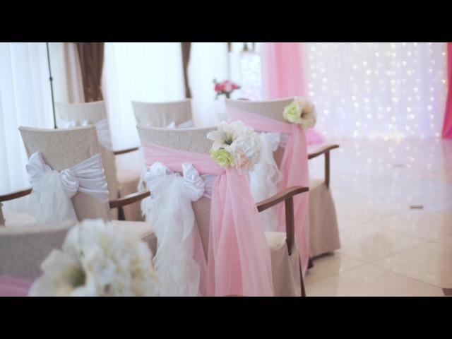 Оформление свадьбы 8.08.2017 в ресторане Украина г.Торез