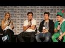 INTERVIEW: Gabriel Conte, Brennen Taylor Louis Giordano! (EXCLUSIVE)