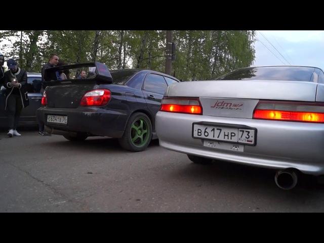 Toyota Chaser (jz-gte) vs Subaru Impreza WRX