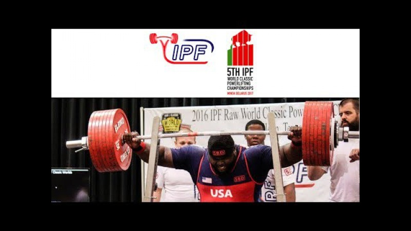 Men Open, 105 kg B Group - World Classic Powerlifting Championships 2017