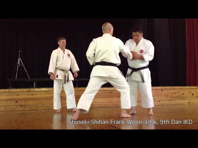 Tekki Shodan Bunkai - IKD Fundamentals | Shuseki Shihan Frank Woon-a-tai 9th Dan IKD