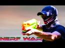 NERF WAR: Gangsters losers Нерф война Грабители неудачники
