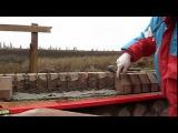 Забор.Урок #2 - Кирпичная кладка карниза, под забор - [© masterkladki] pf,jh.ehjr #2 - rbhgbxyfz rkflrf rfhybpf, gjl pf,jh - [©