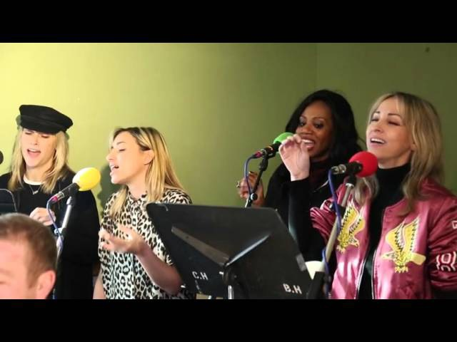 All Saints acoustic cover of Fleetwood Mac's The Chain at BBC Radio 2