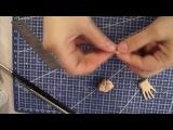 Шарнирная кукла своими руками с нуля часть 8. Как лепить кисти рук