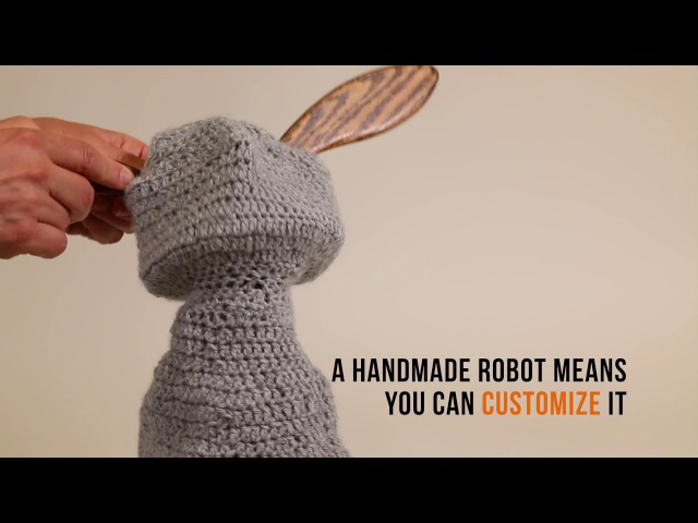 Blossom A Handcrafted Social Robot Soft Inside and Out