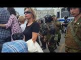 Митинг 12.06.17 года на тверской. #ДимонОтветит