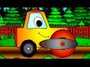 Apprendre les formes en construisant un ROULEAU COMPRESSEUR | Dessinanimé éducatif avec voitures