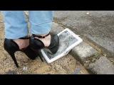 Crush shoes high heel Samsung tab 3 !