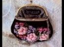 Коллекция сумочек, косметичек, очечников с фермуарами