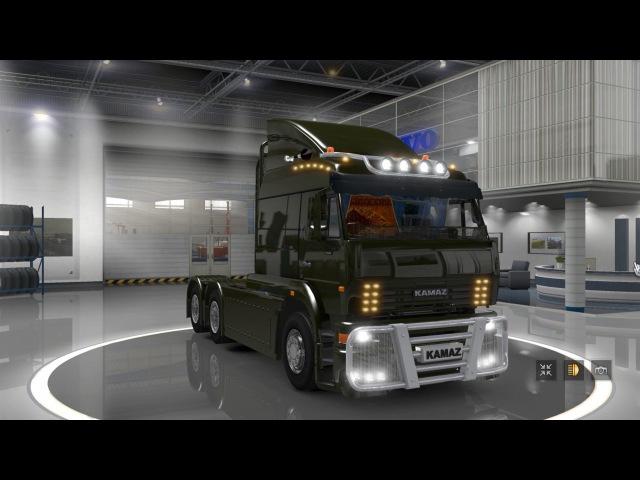 [ETS2]Euro Truck Simulator 2 Kamaz 6460 HD v 2.0