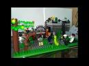 Обзор Лего Самоделки 66 Место выживших зомби апокалипсис