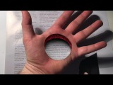 3D Trick Art! Hole in the Hand, Dirty Mind Trick Surprise Drawing