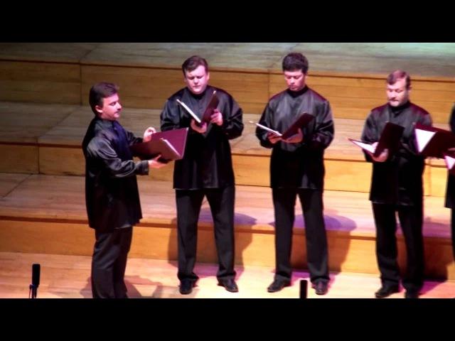 Anima Vocal Ensemble (Russia), Dostoino est, Musica Sacra en San Juan 2012 (ARTbmk★)