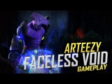 Arteezy playing Faceless Void (Gameplay)