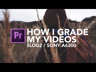 How I Grade My Videos   S-Log2 on Sony a6300/A7S