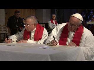 Эндрю Энрикес. Визит Папы Франциска в Швецию (31.10.2016)