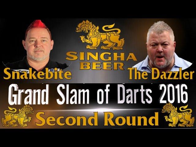 2016 Grand Slam | Round 2 | Wright v Fitton