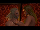 Ведьмак 3 - Секс с Амринн в 4K Rus, 2160p