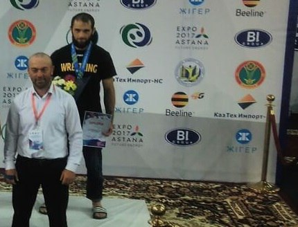 Житель Зеленчукского района стал бронзовым призером чемпионата мира по борьбе на поясах