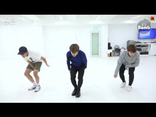 [BANGTAN BOMB] 613 BTS HOME PARTY Practice - Unit stage '삼줴이(3J)'