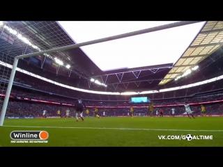 Англия - Литва 2:0. Джейми Варди