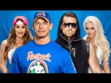 Wrestlemania.33 |02|04|2017| Nikki Bella and John Cena vs The Miz & Maryse |❤Bella❤Twins❤|