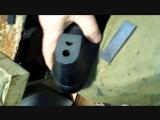 замена набоек и установка скрытой заплатки