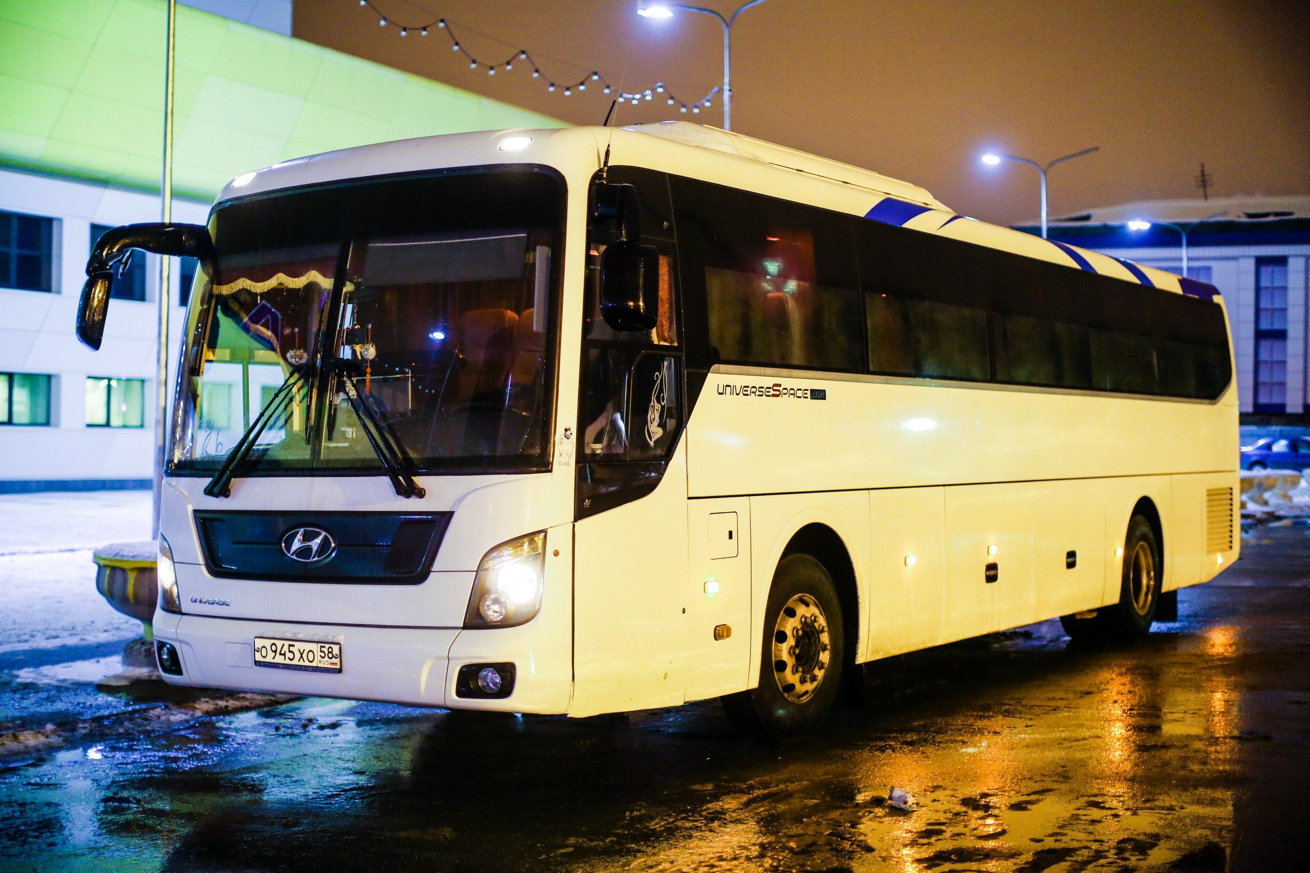 Автобус в аренду в Пензе