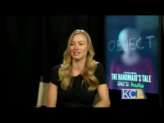 "Yvonne Strahovski talks about starring in ""The Handmaid's Tale"""