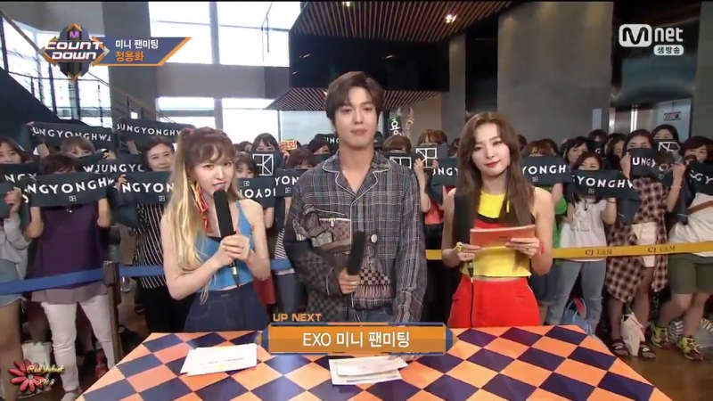 170720 Seulgi Wendy - Special MC pt.2 @ Mnet M!Countdown