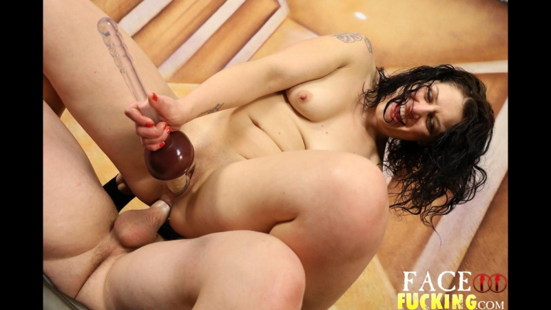 FaceFucking - Fallon West 2 [Anal, Brunette, Dildos, Extreme, FaceFucking, Facial Abuse, Gagging, Puking, Slapping, Spitting]