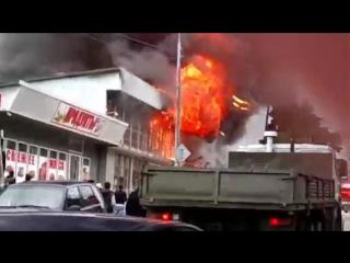 Пожар в Лоо - 16 марта 2017