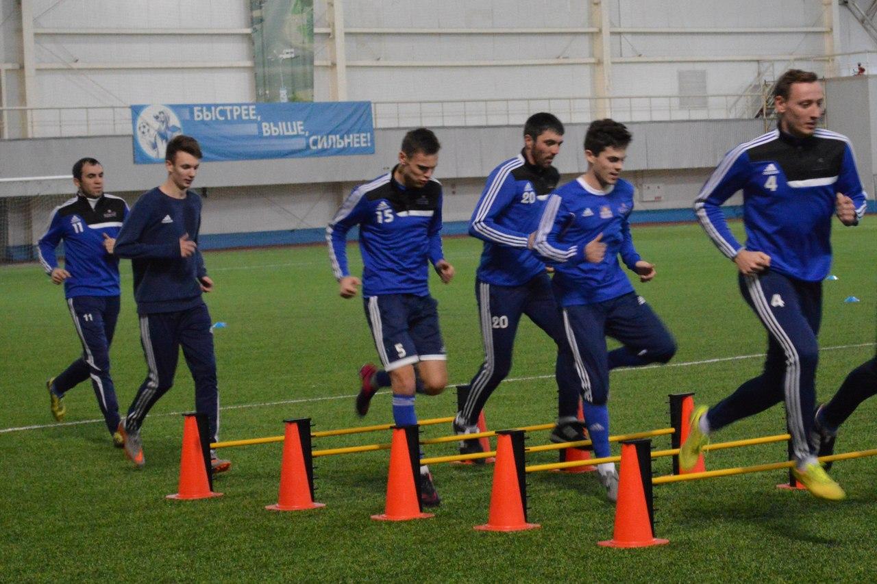 Футболисты «Иртыша» начали подготовку к весенней части сезона