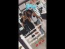 19 мая 2017 Беверли Хиллз США Лана с Александрией Кэйе и Эшли Родригез на шоппинге