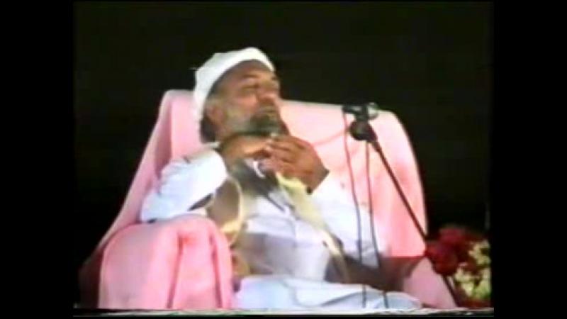 His Majesty Sayedina Riaz Ahmad Gohar Shahi M A addressing in Rohani Conf fsd