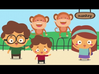 Whos In the Zoo _ Zoo Songs for Children _ Animal Songs for Children _ The Kiboomers