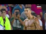 Потрясающий гол Роналду в ворота Барселоны (Барселона, Реал Мадрид 1-3,  Реал, эль класико, Криштиану заткнул Пике, гол, футбол)