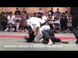 MARCOS SOUZA vs KEENAN CORNELIUS IBJJF JAPANESE NATIONAL 2017 adult black belt Heavy FAINAL