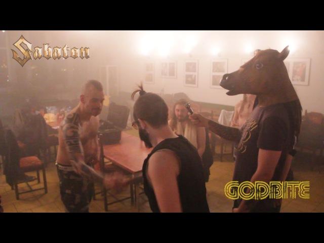Sabaton - Godbite song. Joakim Brodén from SABATON disses GODBITE