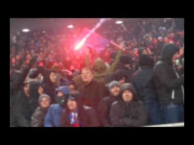 Spartak and CSKA fans / Перекличка Спартака и ЦСКА