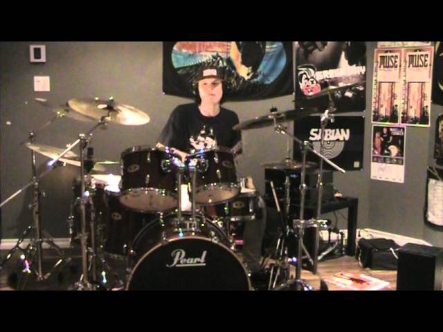 Dropkick Murphys - The Warrior's Code drum cover (Antony Jomphe)