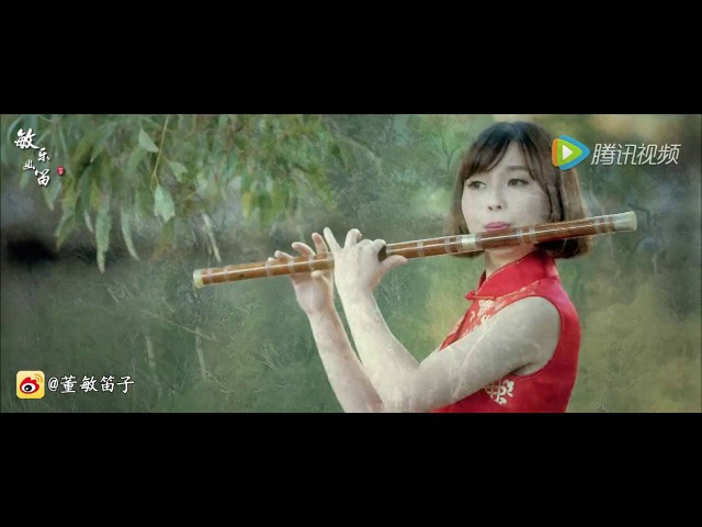 《Theme song of Big Fish Begonia》DongMin Chinese dizi music Bass bB key 彼岸天的海与梦|董敏笛子演绎大鱼海棠印象26