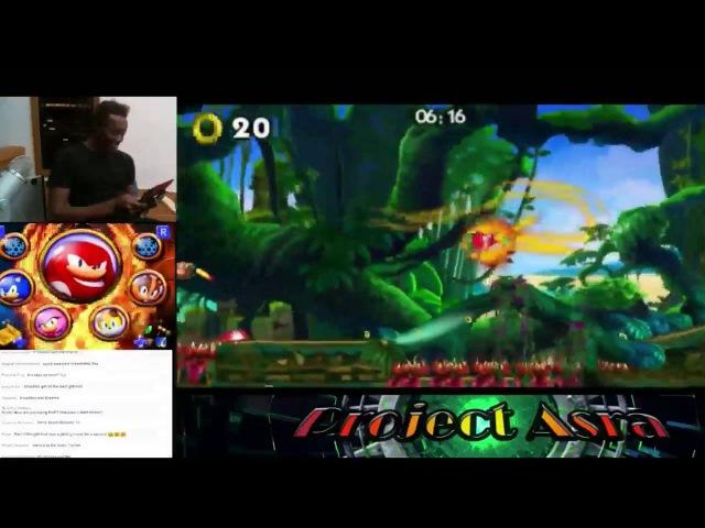 Sonic Boom Fire Ice: ~ Knuckles Dig Gliding Glitch~ (Original Video)