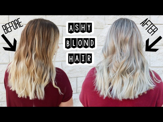 ASHY BLONDE HAIR | Babylights and Smudge Roots