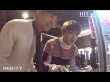 Highcut Video with BTS' V and SHINee's Minho