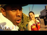 Kendall Jenner Tyler, The Creator and Travis Taco Bennett Take Over the Vogue Set