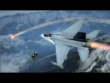 Красивейшая Игра про Современные Военные Самолеты России и США ! ВВС в Tom Clancy's HAWX