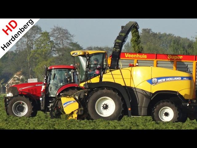 Grass silage | New Holland FR600 Case Valtra | Gras hakselen | NAP | Lunteren | 2017.