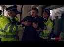 Caolan Robertson Tommy Robinson vs. anti-racists AND police